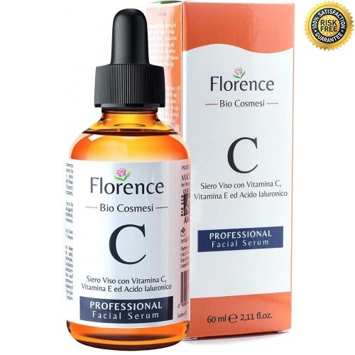 60ml Bio Sérum Facial con Vitamina C, E, Ácido Hialurónico puro 100% or